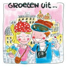 Groeten uit ... - Blond Amsterdam