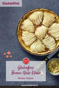 Glutenfrei Backen, so einfach geht's! #glutenfrei #glutenfreibacken #bettybossi Apple Pie, Gluten Free, Desserts, Food, Juice, Bread Baking, Pear Recipes, Gluten Free Flour, Simple