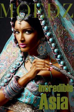 fashion shoot - fashion cultural - india - maharani - rani - turquoise