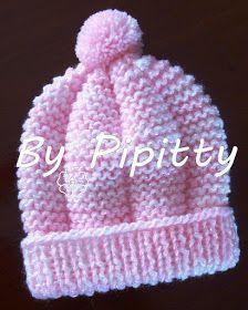 Baby Hat Knitting Patterns Free, Baby Cardigan Knitting Pattern, Baby Hat Patterns, Baby Hats Knitting, Crochet Baby Hats, Free Knitting, Crochet Baby Clothes, Crochet Patterns, Diy Crafts Crochet