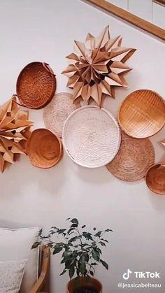 Easy Paper Crafts, Easy Diy Crafts, Diy Arts And Crafts, Fun Crafts, Diy Crafts Hacks, Diy Home Crafts, Diy Home Decor, Diys, Creation Deco