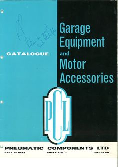 PCL - 1968 Product Catalogue