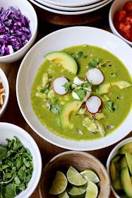 Feasting at Home: Mexican Posole Verde Soup