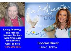The Angel Connection: Living Astrology with Janet  05/17 by Authentic You Radio | Blog Talk Radio