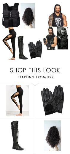 """Aaliyah (3)"" by theannaasylum on Polyvore featuring WWE, Swat, Chicnova Fashion and Joie"