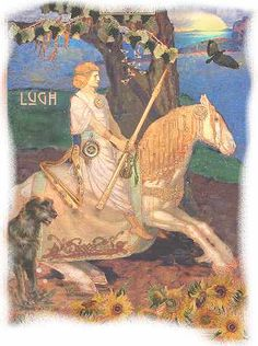 The Celtic god Lugh is at the heart of Lughnasa, a traditional Celtic holiday celebrated on August 1st.