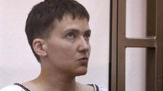 Proteste gegen Pilotinnen-Prozess: Gewalt vor russischer Botschaft in Kiew