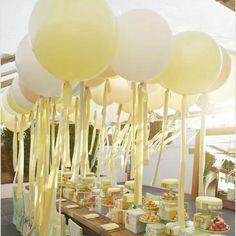 Dessert balloons a plenty