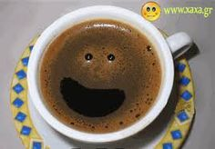 Faces in things - happy coffee Happy Coffee, I Love Coffee, Coffee Art, Coffee Break, Best Coffee, My Coffee, Coffee Drinks, Coffee Shop, Coffee Cups