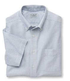 Wrinkle resistant classic oxford cloth shirt university for Ll bean wrinkle resistant shirts