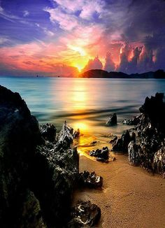 Sunsets on http://www.exquisitecoasts.com/
