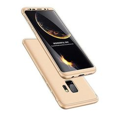 Full Body Case 360 Samsung Galaxy Plus, elő-hátlap tok, arany Samsung Galaxy S9, Full Body, Total Body Workouts