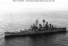 Picture of the USS Canberra (CA-70)