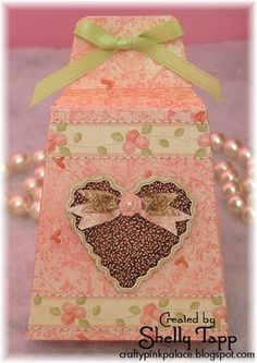 Lovely Valentine projects by Shelly Tapp.