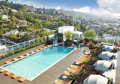 10 Hip Hotels in Los Angeles | DAMSEL IN DIOR | Bloglovin'