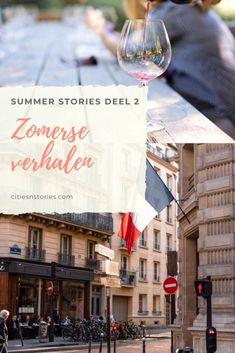 In deze blog vind je een collectie van zomerse verhalen. Om even lekker bij weg te dromen op grijze dagen, óf juist om in het zonnetje even lekker te lezen.