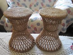 Your place to buy and sell all things handmade Packing Supplies, Wicker Table, Rattan Furniture, Photo Look, Is 11, Just The Way, End Tables, Twins, Bamboo