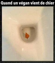 Quand un #végan vient de ch..