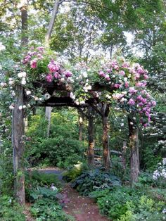 Romantic Fairytale Garden Fine Gardening Faith is taking the first step even when you dont see the whole staircase MLKJr A cottage garden can incorporate quirky or funny. Cottage Garden Design, Diy Garden, Shade Garden, Garden Projects, Garden Art, Backyard Cottage, Backyard Shade, Garden Plants, French Cottage Garden