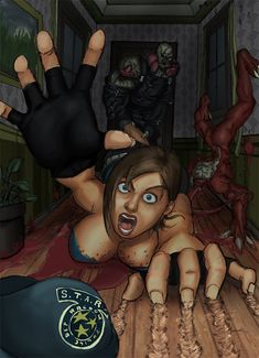 resident evil jill valentine zombie hentai