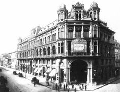 Berlin, Castan´s Panoptikum 1885.