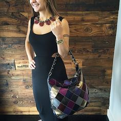 Trendy and Cute! Shop this awesome Chanel bag on www.mymoshposh.com! Call us at 813-258-8800 if you would like to purchase the necklace or dress! #trendy #socute #trendyandcute #chanel #cc #rachelpally #jcrewjewelry #fashion #chanelhandbags #inlove #moshposhfinds #designerconsignment #mymoshposh