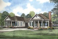 Multi-Family Plan 62378 | Traditional Plan with 2344 Sq. Ft., 4 Bedrooms, 4 Bathrooms, 2 Car Garage