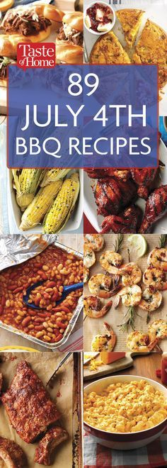 89 Smoky, Saucy and Meaty July BBQ Recipes of July party ideas ideas party ideas white and blue 4th Of July Desserts, Fourth Of July Food, Fourth Of July Recipes, 4th July Party, 4th Of July Food Sides, 4th Of July Ideas, July 4th Appetizers, Summer Recipes, Holiday Recipes