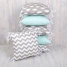 Throw Pillows, Bed, Cushions, Stream Bed, Decorative Pillows, Decor Pillows, Beds, Scatter Cushions
