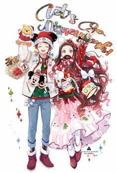 Tanjiro and Nezuko- Anime Angel, Anime Demon, Kawaii Anime, Chica Anime Manga, Demon Slayer, Slayer Anime, Anime Boy Zeichnung, Another Anime, Animes Wallpapers