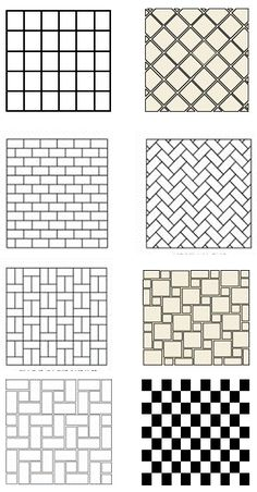 Bathroom Tile Design Patterns | Tile Floor Patterns To Spark Your Bathroom Tile  Design Ideas Www
