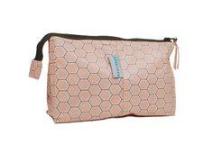 Wash Bag – Design Honey Comb Rose   Aspegren