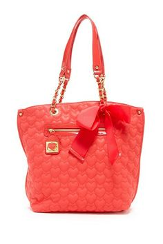 23a4b424ed51 Betsey Johnson Be My One and Only Tote by Betsey Johnson on @HauteLook Cute  Purses
