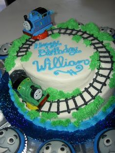 1000 Images About Thomas Train Cakes On Pinterest