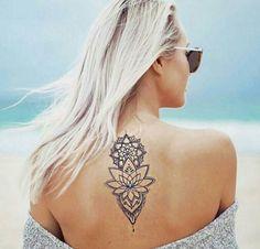 Back Mandala Tattoo
