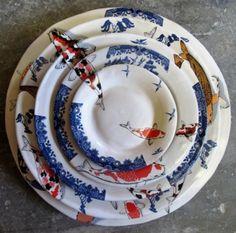Mervyn Gers crockery - want this!!!!!