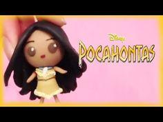 Disney Pocahontas Princess Chibi Clay Tutorial - YouTube