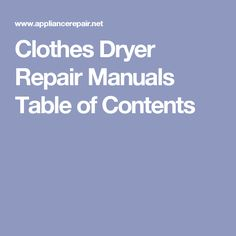 Ebhr refrigerator repair manual supco washer dryer repair clothes dryer repair manuals for diy dryer repair learn about clothes dryer parts and troubleshooting common clothes dryer repair problems solutioingenieria Image collections