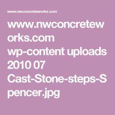 www.nwconcreteworks.com wp-content uploads 2010 07 Cast-Stone-steps-Spencer.jpg