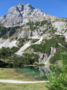 Seebensee: Sehr schöne lange Mountainbiketour von einem Ende Tirols an das andere ...