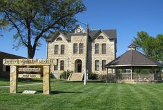 Horace Greeley Museum  -  Located in the old Greeley County courthouse in Tribune, Kansas