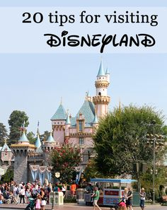 20 Tips for Visiting Disneyland: food, enjoying the park, photography, and staying healthy on vacation. Great tips! Disneyland California Adventure, Disneyland Vacation, Disneyland Tips, Disneyland Paris, California Travel, Disney Vacations, Vacation Trips, Disney Planning, Disney Tips