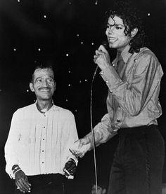 Michael Jackson and Sammy Davis Jr.