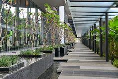 дневник дизайнера: Эко-дизайн отеля PARKROYAL on Pickering в Сингапуре