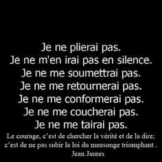 Jean Jaures #verite et il faut la respecter