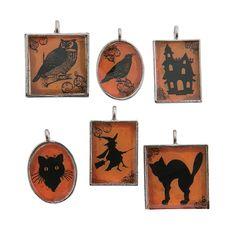 Framed+Halloween+Charms+-+OrientalTrading.com