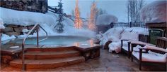 Doesn't this personal hot tub look inviting? Deer Valley, UT