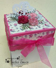 Love themed Magic Explosion Box http://arty-sorts.blogspot.in/2013/02/love-theme-magic-explosion-box.html