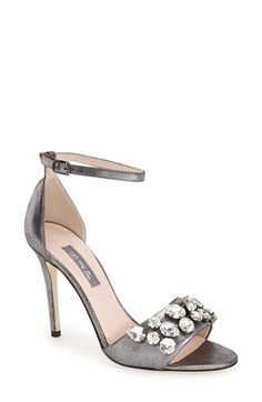 SJP 'Pandemonium' Crystal Embellished Ankle Strap Sandal (Women) available at #Nordstrom