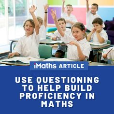 Questioning❔ is a powerful teaching tool you can use to build proficiency in mathematics. A great way to facilitate mean. Math Is Everywhere, Classroom Inspiration, Teaching Tips, Maths, Investigations, This Or That Questions, Education, Learning, Building